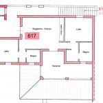 appartamento in affitto al mare n. 617 - planimetria